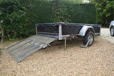 Used Trailer for general use, or for transporting motorcycle and sidecar