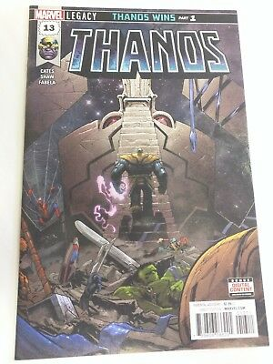 Thanos #13 2018 1st Print First Appearance of Cosmic Ghost Rider VF/NM (A)