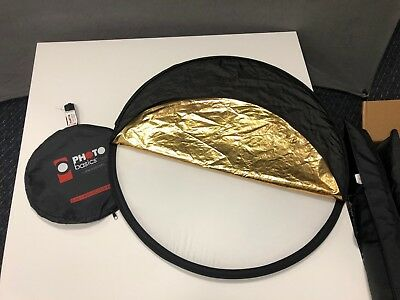 """Westcott Basics 30"""" 5-in-1 Gold Reflector (Diffusion,Silver,Black,White,Gold)"""