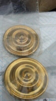 Pair Of Long Case Grandfather Clock Rosettes 44mm