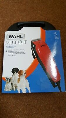 Wahl Multi Cut Mains Animal Clipper Kit - Used Once.