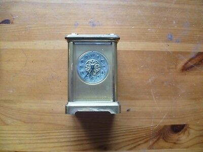 Vintage French Brass Carriage Clock