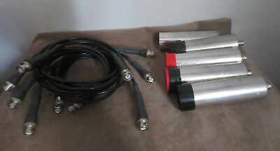Geiger Counter Probes and Cords **LOT OF 5**