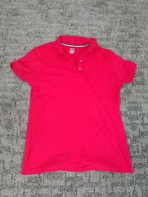 French toast Red Polo school uniform. Size XL