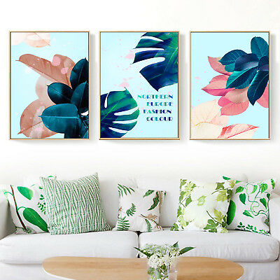 Plants Art Motivational Quote Canvas Nordic Poster Painting Decor Unframed A254