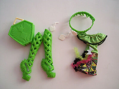 Batsy Claro Monster High Doll Clothes Outfit Shoes Accessories