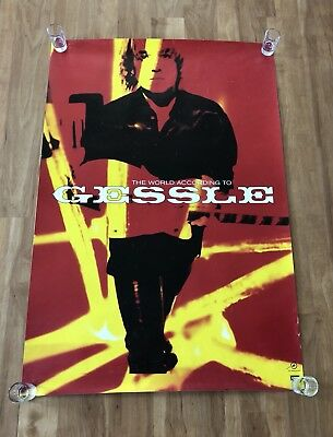 """Per Gessle (Roxette) Promo Poster """"The world According to Gessle"""" 1997"""