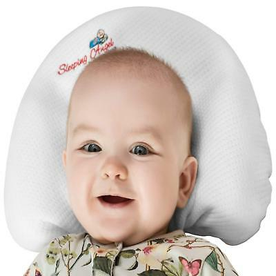 Baby Pillow for Newborns to prevent flat head syndrome Plagiocephaly and rolling