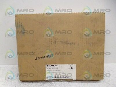 Siemens 6Es7414-3Xj04-0Ab0 Cpu Module *new In Box*