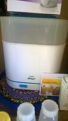 Philips Avent steriliser/ steamer/ bottle warmer/ breast pump/ baby bundle!
