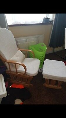 Nursing glider chair