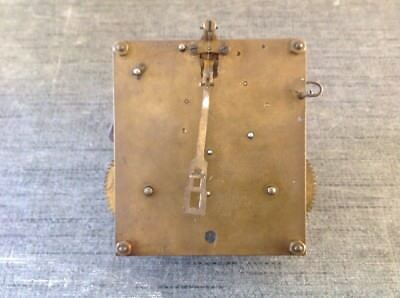 Antique Clock Movement Suspension Hanger Leader Repair Or Spare Parts