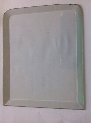 Clock Glass Arched Rectangle16mm Bevel 214x172mm Bevelled  Panel Wall Clock