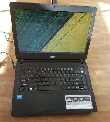 "Acer Aspire Notebook ES-14 // Neu // Schwarz // 14"" Display"