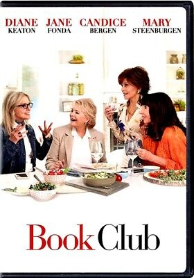 Book Club (DVD,2018)NEW*  Romantic Comedy * PRE-ORDER SHIPS ON 08/28/18