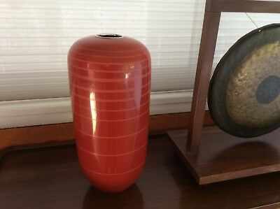 Vase lacquered dinanderie Art Deco Bronze Style Jean Dunand French Copper Design