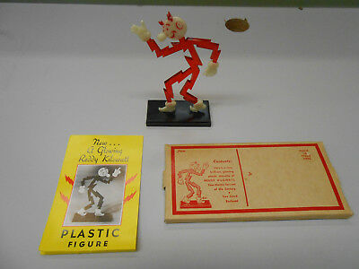 Vintage  Antique Reddy Kilowatt Card Holder