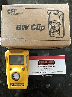 BRAND NEW 24 months BW Gas Clip Model BWC2-H H2S monitor 10-15PPM