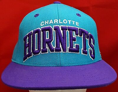 buy online 6ccc8 e7bc1 ... shop charlotte hornets nba mitchell ness fitted cap hat f9b69 c0a0c