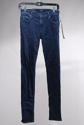 NWT Citizens Of Humanity Avedon Slick Blue Rayon Skinny Legging Jeans Size 27
