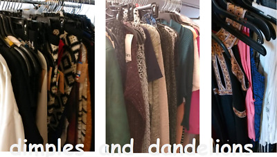 High End Department Store $1,000 Women's Clothing Wholesale Resell Lot NEW Tags