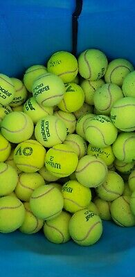 25 Quality Used Babolat & Wilson tennis balls