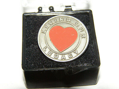 Southwest Airlines Living Our Legacy Heart  Lapel or Tie Tack Pins