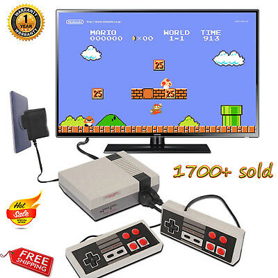 Mini Retro TV Game Console Classic 620 Games Built-in+2 Controller Kid Xmas Gift