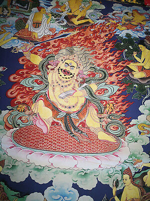 Antique Thang-ga  Tibetan Bhuddist Thangka Painting