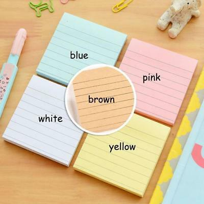 Sticky Notes Notebook Memo Pad Bookmark Paper Sticker Notepad Stationery Pads
