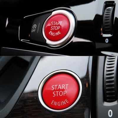 HOT CAR ENGINE Start Stop Push Switch Button Trim For BMW 3 Series