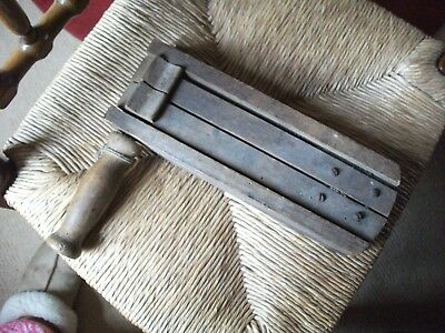 Rare Antique Wooden Rattle/alarm Ww2 Military A R P Maker Clements & Sons