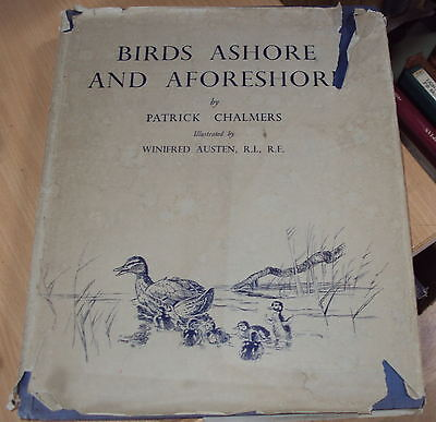 1935 - BIRDS ASHORE & A-FORESHORE by P CHALMERS COLOURillust by W AUSTEN -1st ED
