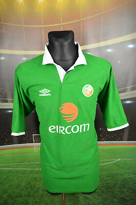 Ireland Eire Umbro Home Football Soccer Shirt (Xl) Jersey Top Trikot Retro Vtg