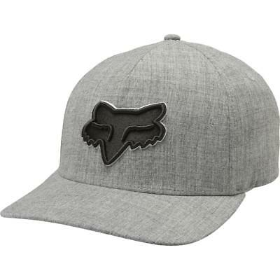 finest selection 3b2c4 9bc5a ... free shipping fox racing cap hat epicycle flexfit heather grey l xl  21103 4d849 c93fb