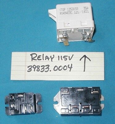 BUNN ULTRA 2 Slushy Machine RELAY PART # 39833.0004 PLUS 2 MORE RELAYS