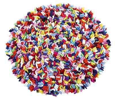 Proggy® Dolly Mixture Small Round Rag Rug Cushion Craft Kit