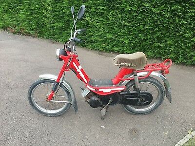 Suzuki TVS 50, moped. Rock solid,reliable funky!