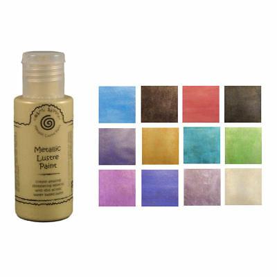 Cosmic Shimmer Metallic Lustre Acrylic Paint 50ml
