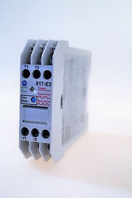 Allen Bradley 817-E2 Temperature Monitoring Relay with DPST Contacts
