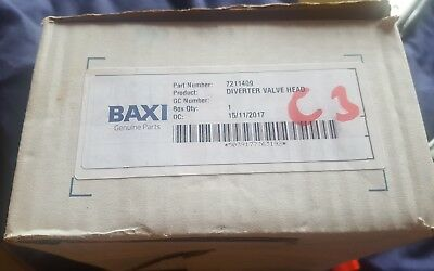 Baxi Honeywell Diverter Valve Actuator Head VC6012 7211409 *1ST CLASS DELIVERY!!