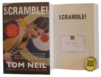 Signed Book - Scramble by Tom Neil