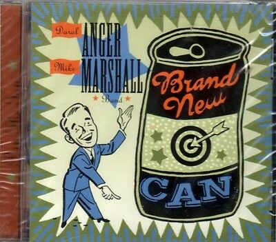 Brand New Can ~ Anger/Marshall Band ~ Eclectic ~ Blues ~ Bluegrass ~ CD ~ New