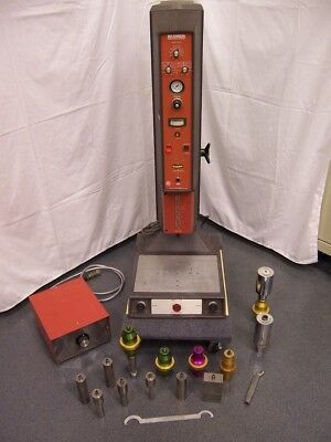 Branson Ultrasonic Welder and Accessories, Model 8400