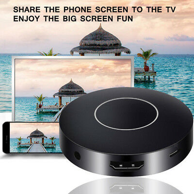 1080P WiFi Display TV Dongle Wireless Receiver HDMI Miracast AirPlay DLNA