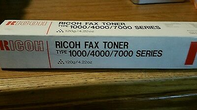 New, genuine Ricoh Fax Toner type 1000/4000/7000 Series