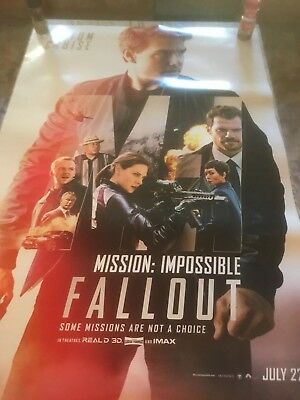 P4074 Art Mission Impossible Fallout Movie Tom Cruise 2018 Film Poster Hot 24x36