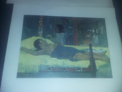 Vintage -Tableaux Tahiti GAUGUIN- 6 reproduction- Guilde international de l'art