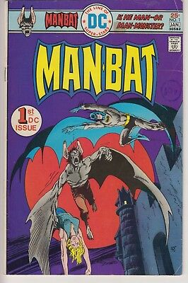 Man-Bat 1 (Ditko) and 2 from 1976.