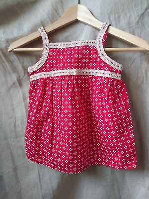 New with tags Hanna Andersson Girls Top Size 100 100% Cotton